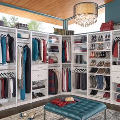Using SpaceCreations is a simple way to customize the closet of your dreams.