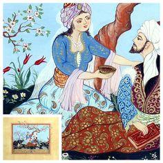 682 Best Minyatur Sanati Images On Pinterest Islamic Art