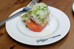 Delicious tuna salad pincho in Logrono, Spain | NY Food Journal