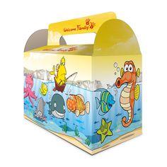 La #lunchbox Mer. Modèles mixte. Pour les anniversaires, les mariages à thèmes, pour les menus enfants au resto.