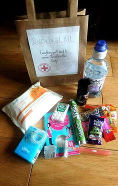 Hen party survival kit