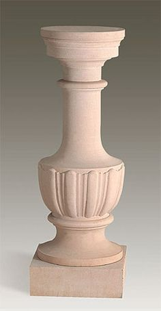 Marble columns your home decor in sand color.
