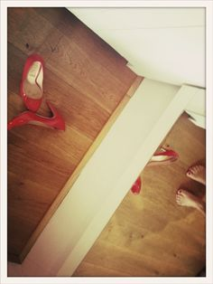 Red Shoes Red Shoes, Fashion, Red Dress Shoes, Moda, Fashion Styles, Fashion Illustrations