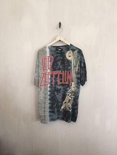 Led Zeppelin shirt vintage t shirt band t-shirts by CottonFever