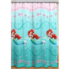 Captivating Little Mermaid Shower Curtain