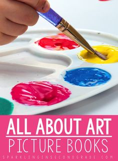 Want to inspire art in your classroom? Here are some read aloud suggestions that can help spark teaching art in the primary grades!