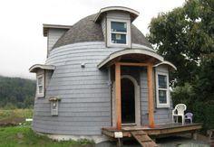 lexa dome tiny home 600x416   Lexa Dome Tiny Homes: 540 Sq Ft Dome Cabin