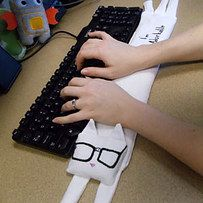 Cat Keyboard Cushion | Community Post: 11 Adorable DIY Projects Every Cat Lover Needs To Make