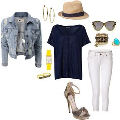 Chill night out attire, created by brandy-michelle-ott on Polyvore