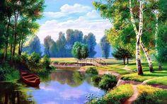 Bildergebnis für живопись природа
