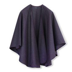Antonia Lodencape violett Kimono Top, Sweaters, Fashion, Fashion Styles, Chic, Colors, Clothes, Black, Moda