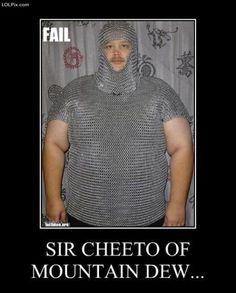 Sir cheeto of mountain dew.