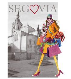 Cuaderno de viaje: Camisetas Made in Segovia