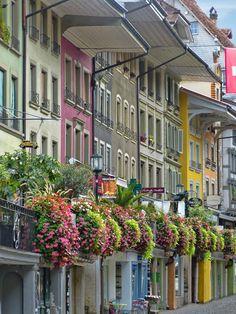 Like an ancient shopping mall... Thun, Switzerland
