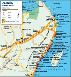 Map of Cancun Mexico | ... Mexico, go to the official Mexico Tourism Board website by clicking