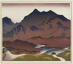CHEYNE, Ian - (SCOTTISH 1895-1955) GLEN SLIGACHAN
