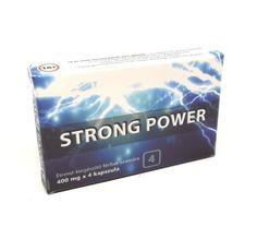 Strong Power Potencianövelő Kapszula Férfiak Részére