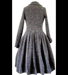 Hand-knitted Holst Coat