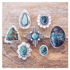 @rusticgracetradingco ~ How we get through #humpday ~ Turquoise Rings all available at RusticGrace.com #etsy #turquoise #riojeweler #turquoiseoverdiamonds #love #oneofakind #ladysmith #silver #wednesday #boho #fashiongram #style