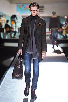 Dsquared2 Fall 2012 Menswear Fashion Show