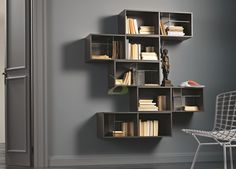 Mobile libreria sospesa Iles | Arredo Design Online