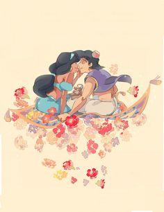 "Jasmine & Aladdin ""A Whole New World"""