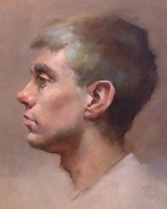 14 x 11 Oil Portrait - Jeff Haines
