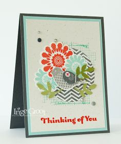 Stampin' Cards And Memories, Bird Builder, Polka-Dot Pieces, Circle Punches, Stampin'Club