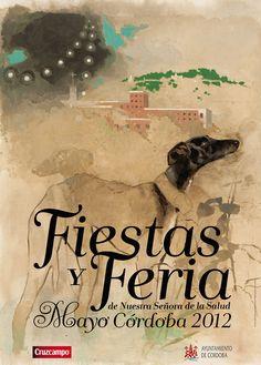 Fiestas y Feria de Cordoba - cartel 2012