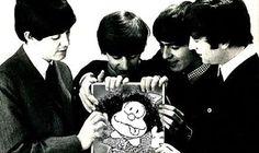 Mafalda e Beatles: uma antiga história de amor