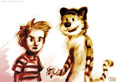 Calvin and Hobbes by Tohad.deviantart.com