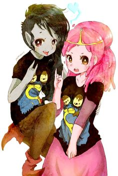 Marceline X Bubblegum Tumblr