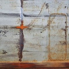 Side of a ship. #rust #texture #patina