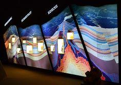 "Képtalálat a következőre: ""geology exhibition"" Earth Layers, Design Museum, Exhibit Design, Science Museum, Activity Centers, Earth Science, Natural History, Layout Design, Activities"