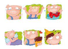 Behance :: Editing Ed.tresei, 2015 digital illustrations for children
