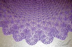 Ravelry: Project Gallery for Moon Flowers Лунные цветы pattern by Larisa Valeeva