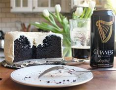Chocolate Guinness Cake-my husband requested I make this for his birthday this year! I admit it does look delicious:)