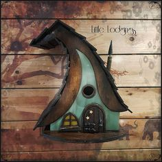 Check out this item in my Etsy shop https://www.etsy.com/uk/listing/565104877/the-bell-witch-lodge-birdhousebirdhouses