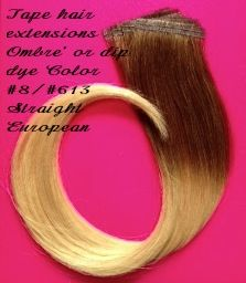 Tape hair extensions blonde 613 easy to apply completely non european straight remi tape extensions 6cm x 1cm 4grams per piece ombre tape extensionsimaginationdo it yourselfstylistsshadowthe solutioingenieria Images