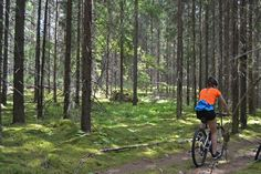 Cycle tour - what an excellent way to relax on autumn weekends in Finland. It is not too cold, not too hot. We have hand-picked cycling locations and even tested some of the cycling routes offered. Ready-made short breaks for people with normal condition. No need to bring your own bicycle, our partners have one for you.