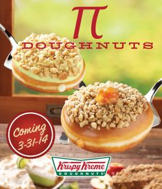 Coming Soon! Key Lime Pie and Caramel Dutch Apple Pie Doughnuts! (Available in the US & CAN only starting 3/31/14)