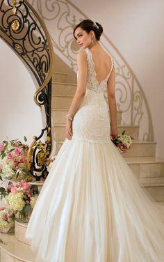 Vestido de novia corte sirena :: Virtual Novia Book