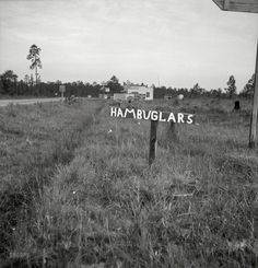 Shorpy Historical Photo Archive :: Lock the Car: 1937 (Georgia road sign(