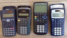 Lot 4 TI Texas Instruments Calculators TI-83 Plus TI-30XA TI-30XIIS Casio FX-300