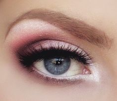 Pink or Brown Eye Shadow - Makeup Tips for Wearing Royal Blue Dress - EverAfterGuide