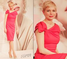 Michelle Williams in Valentino | 'My Week with Marilyn' Tokyo Photocall
