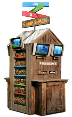 Game Shack Point of Purchase Display CABELA'S / ACTIVISION