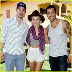 2013 Just Jared/Armani Exchange Music Festival Brunch - Full Coverage!