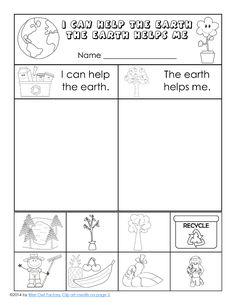 Eu pot ajuta pe pământ, pământul mă ajută, sortarea, tăiat și pagina de pasta pentru K-1