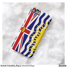 British Columbia, flag Barely There iPhone 6 Case
